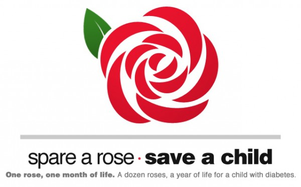 Spare a rose, save a child Kopie