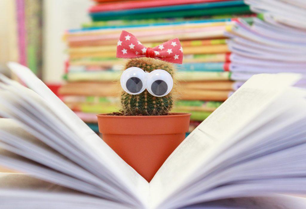 Lesender Kaktus